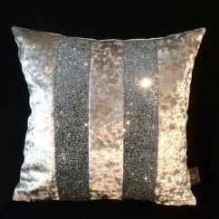 High Kitchen Table With Storage Window Ideas Stunning Silver Velvet Glitter Ava Scatter Cushion ...
