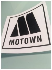 motown records self adhesive vinyl decal/sticker/wall art