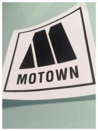motown records self adhesive vinyl decal/sticker/wall art ...