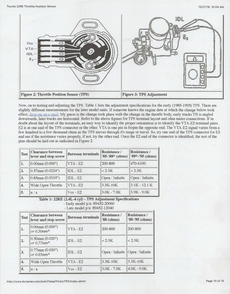 [WRG-3427] 22re Engine Belts Diagram