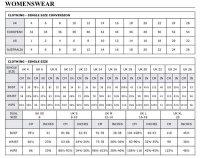 Standard Uk Womens Size Chart - Size guide love niche ...