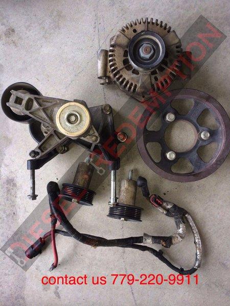 Ford Dual Alternator Install
