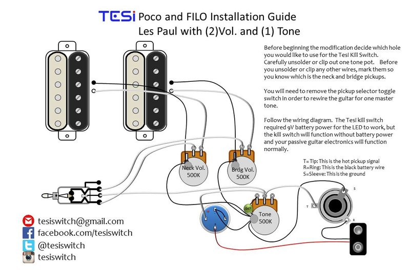 Wiring Diagrams Tesi Guitar Kill Switch Parts And Accessories