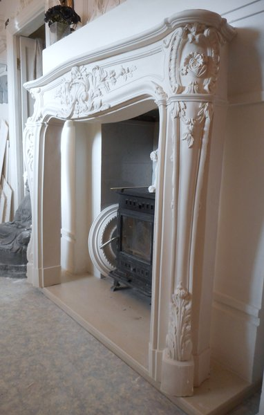 Plaster Fire Surround  Decorative Designs Birmingham