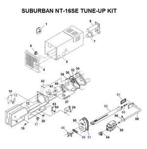 Suburban Furnace Model NT16SE Parts   pdxrvwholesale