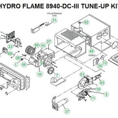 Hydro Flame Furnace Wiring Diagram 2016 Kenworth W900 Diagrams Atwood Model 8940-dc-iii Parts | Pdxrvwholesale