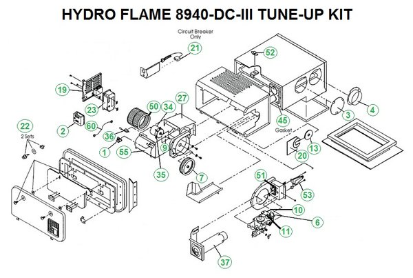 holiday rambler wiring diagram sony xplod cdx f5710 atwood furnace model 8940-dc-iii parts | pdxrvwholesale