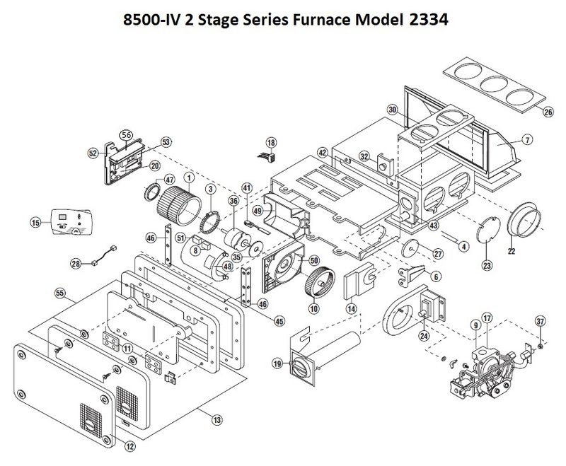 Wiring Diagram: 26 Hydro Flame Furnace Parts Diagram