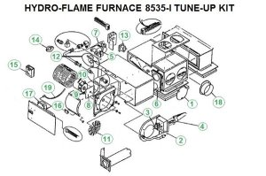 Atwood Furnace 8535I Parts | pdxrvwholesale