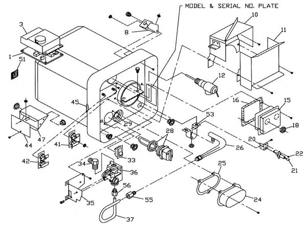 Wiring Diagrams : Suburban Rv Furnace Parts Diagram