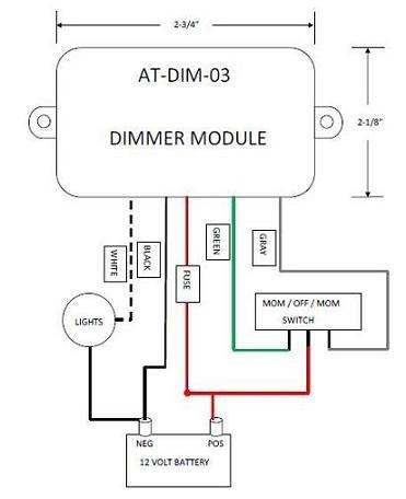 Rv Dimmer Switch RV Fan Switch Wiring Diagram ~ Odicis