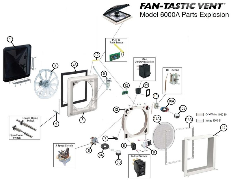 FANTASTIC VENT FAN WIRING DIAGRAM - Auto Electrical Wiring ... on
