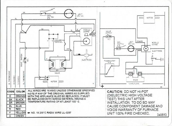 Wiring Diagram For Suburban Nt 12Se Furnace