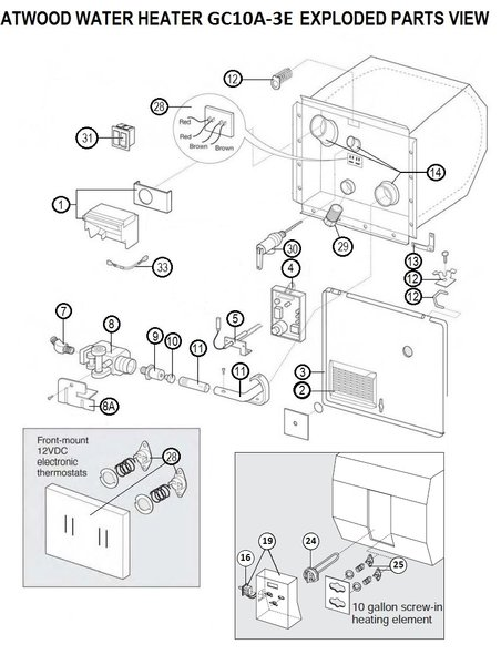 holiday rambler wiring diagram switch atwood water heater model gc10a-3e parts | pdxrvwholesale