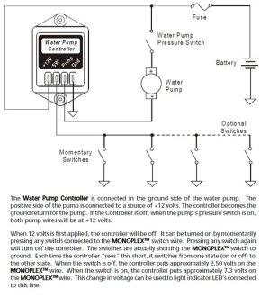 Intellitec Water Pump Controller, 10 Amp, Latching, 00