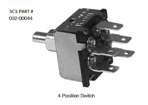 INDAK 4 Position Blower Switch 03200044 | pdxrvwholesale
