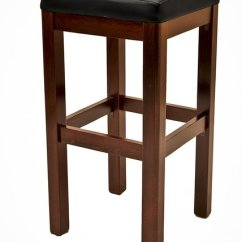 Plastic Chiavari Chairs Church For Sale Quick-ship Backless Wood Bar Stool Square Vinyl Padded Seat | Restaurant - Call Us ...