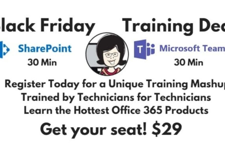 Black Friday Teams Training Deal