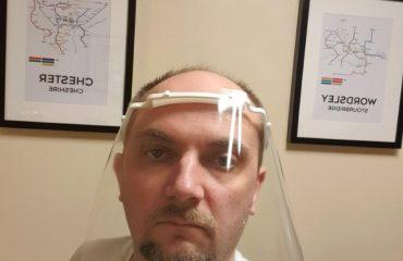 3D Printed Face Shield Covid-19