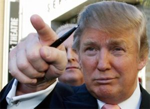 Finger-Trump