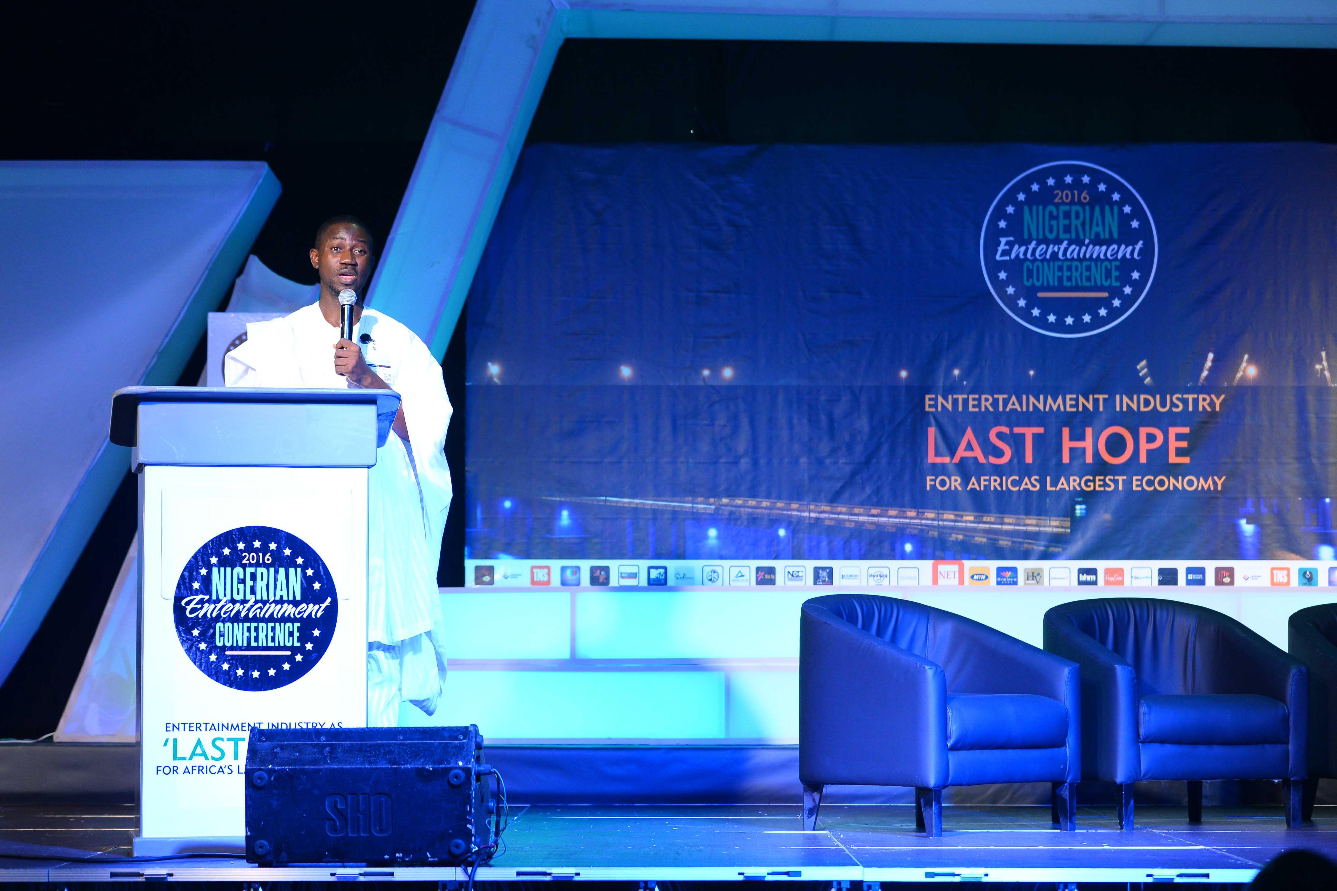 Ayeni Adekunle Samuel Speaking at NECLive 4