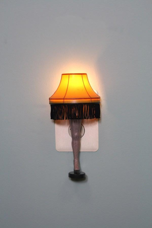 Christmas Story Night Light Leg Lamp