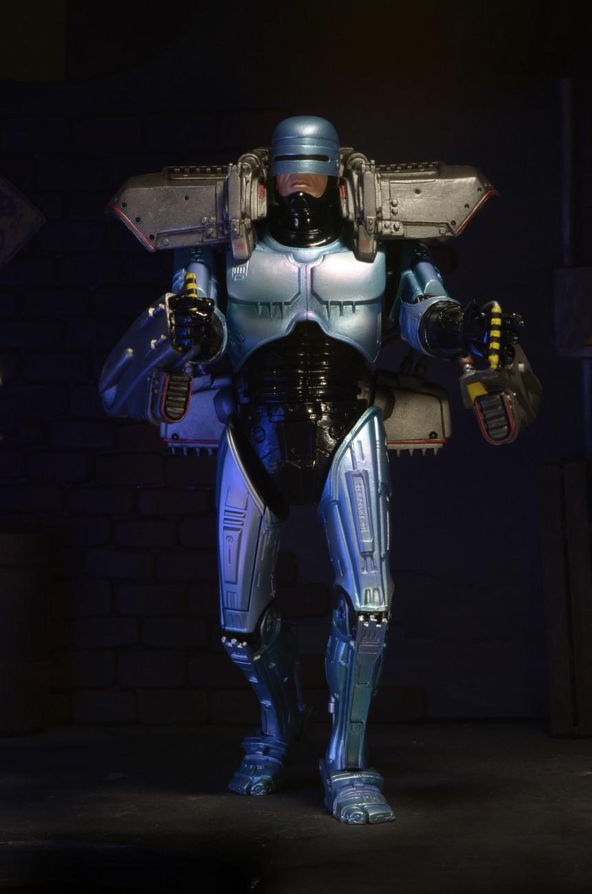 Closer Look Jet Pack Robocop Action Figure Photo Gallery