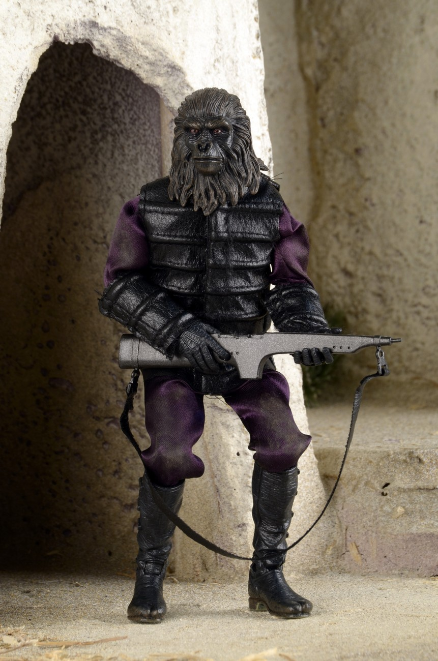 Closer Look Classic Planet of the Apes Clothed Gorilla Soldier Action Figure