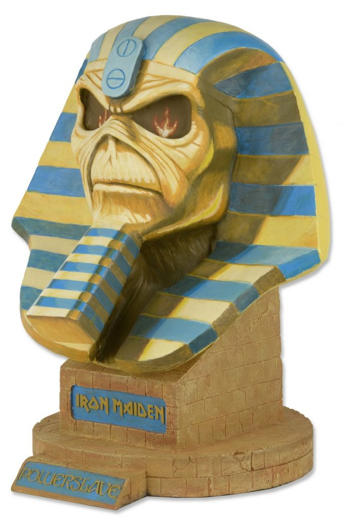 DISCONTINUED  Iron Maiden  LifeSize Bust  Powerslave