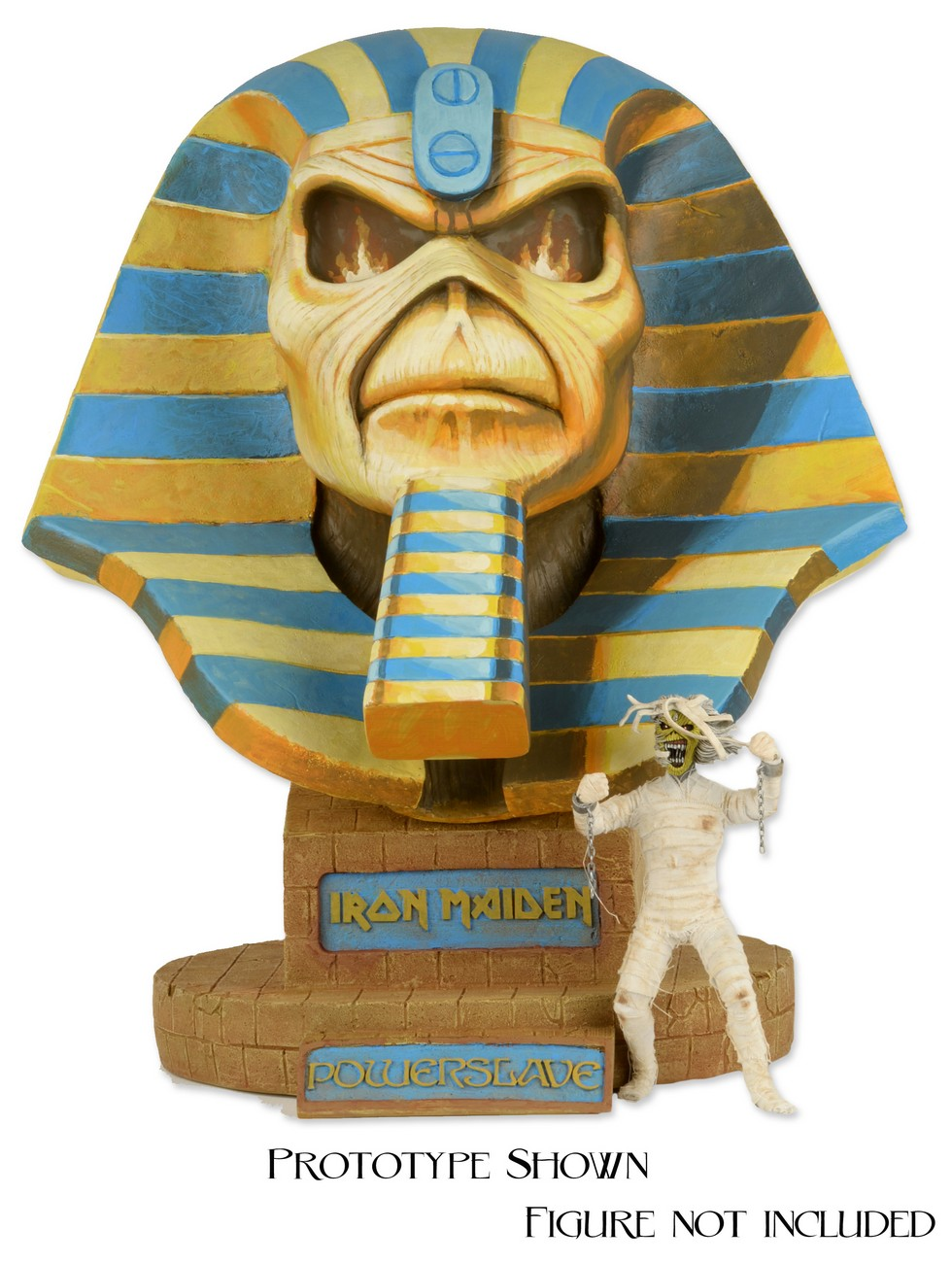 DISCONTINUED  Iron Maiden  LifeSize Bust  Powerslave Limited Edition