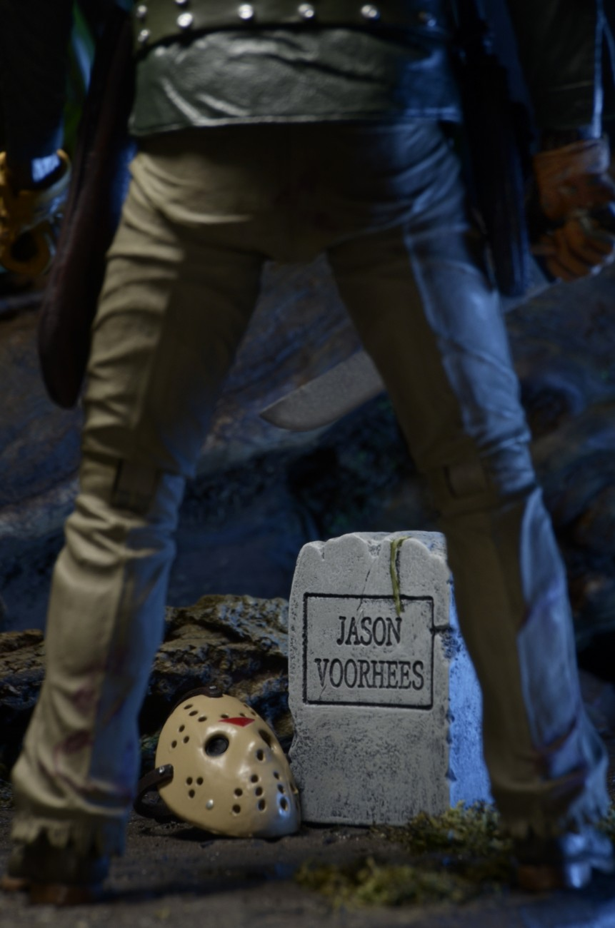 Closer Look Friday The 13th Part 6 Ultimate Jason 7 Scale Action Figure