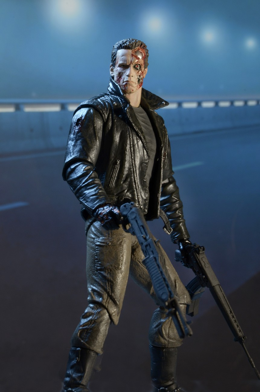 Terminator 7 Action Figure Police Station Assault