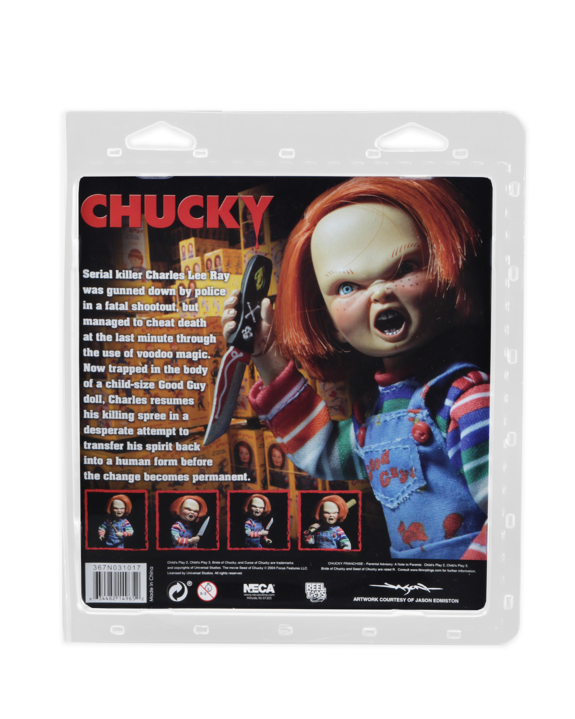 Shipping This Week  Chucky 8 Scale Action Figure and