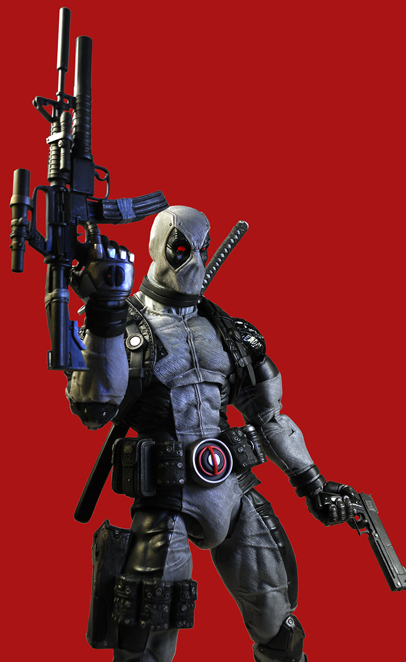 Shipping This Week  14 Scale XForce Deadpool