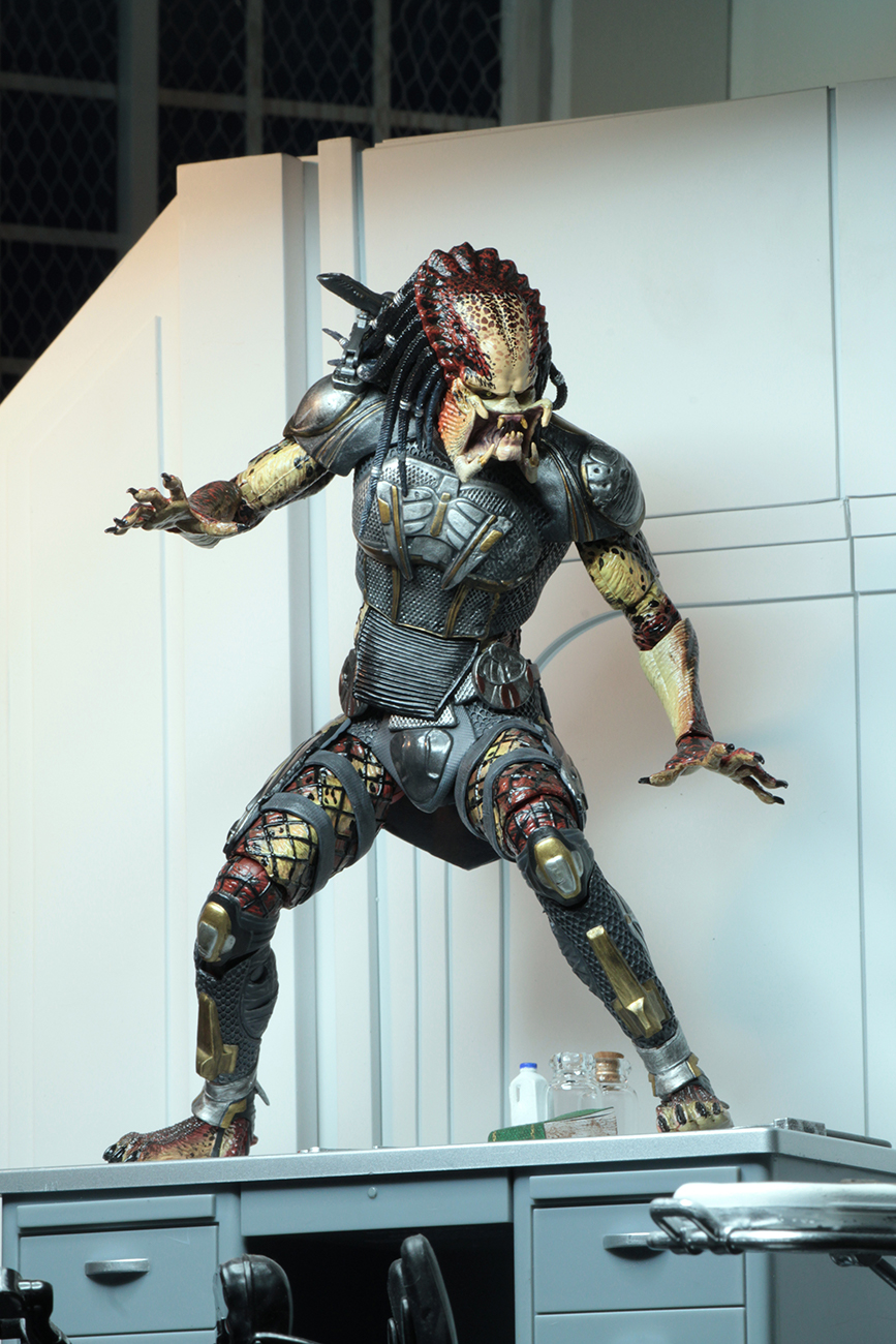 NECA / 終極戰士 Predator / 2018電影終極戰士:掠奪者 / 終極版 可動公仔 / 20cm - 模型格納庫 HOBBY GARAGE | 購買鋼彈 ...