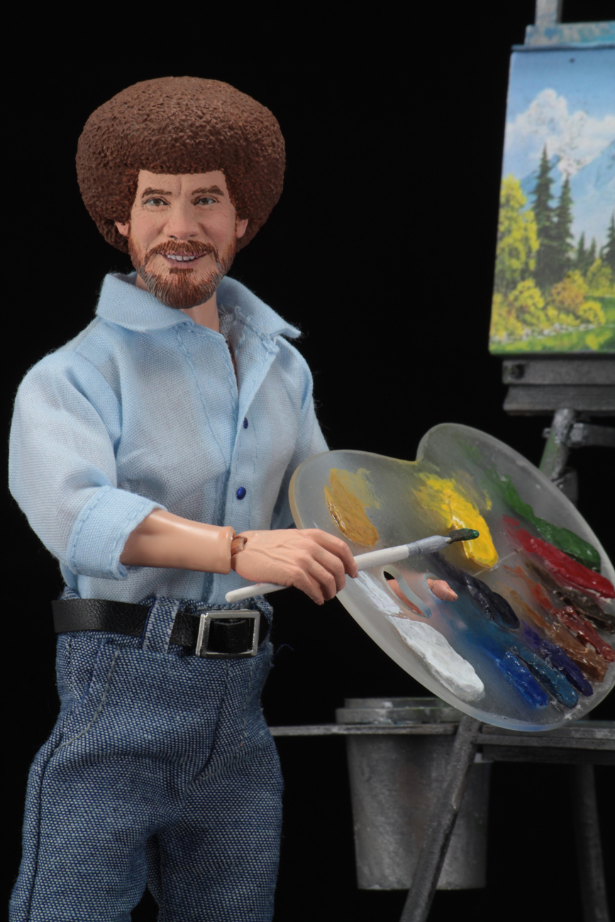 Bob Ross  8 Clothed Action Figure  Bob Ross
