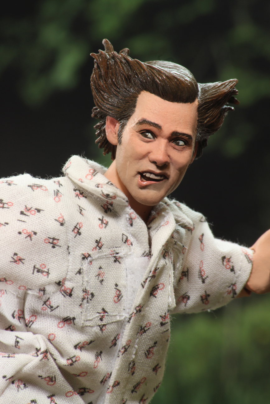Ace Ventura Hairstyle : ventura, hairstyle, Ventura, Clothed, Action, Figure, Shady, Acres, NECAOnline.com