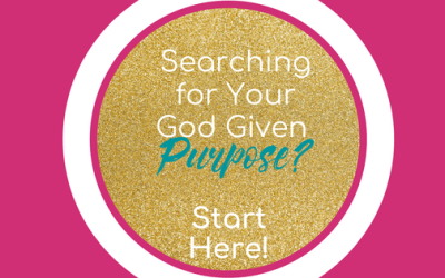 Searching for Your Purpose? Start Here!