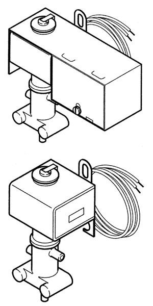 Honeywell, Johnson Pneumatic Relays, Selector Relays