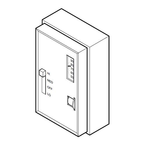 TC-187 Barber-Colman Electric Thermostat-NECC