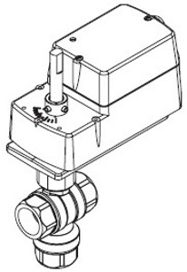 VA-2313-831-9-03 Barber-Colman Electric Valve-NECC