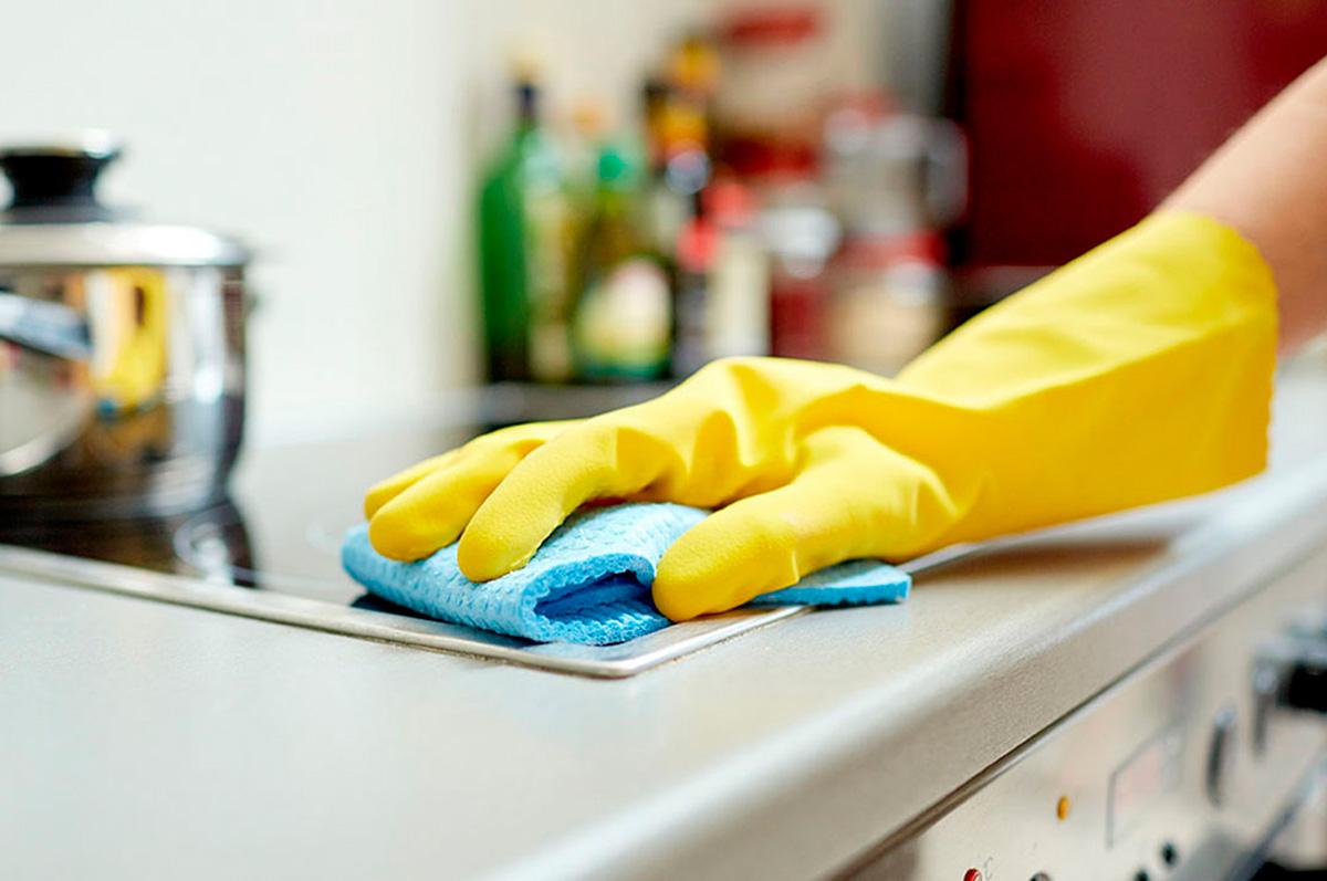 Cmo limpiar la cocina y sus aparatos  Necesitas ayuda
