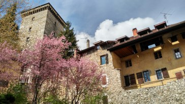 Subida al Castillo de Annecy