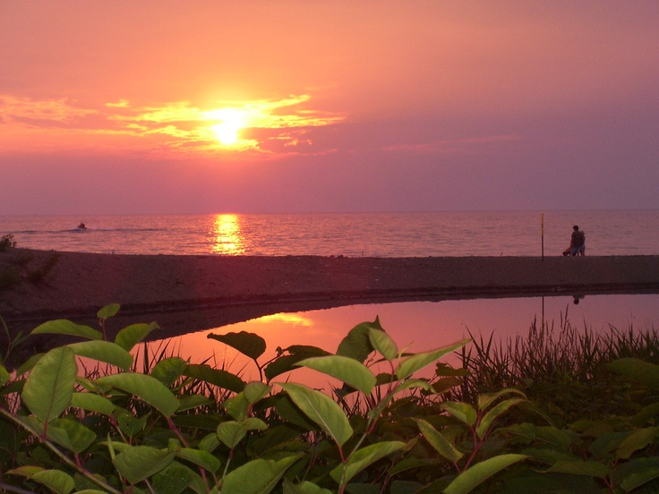 north east sunset