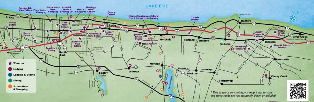 LEWC Winery Map