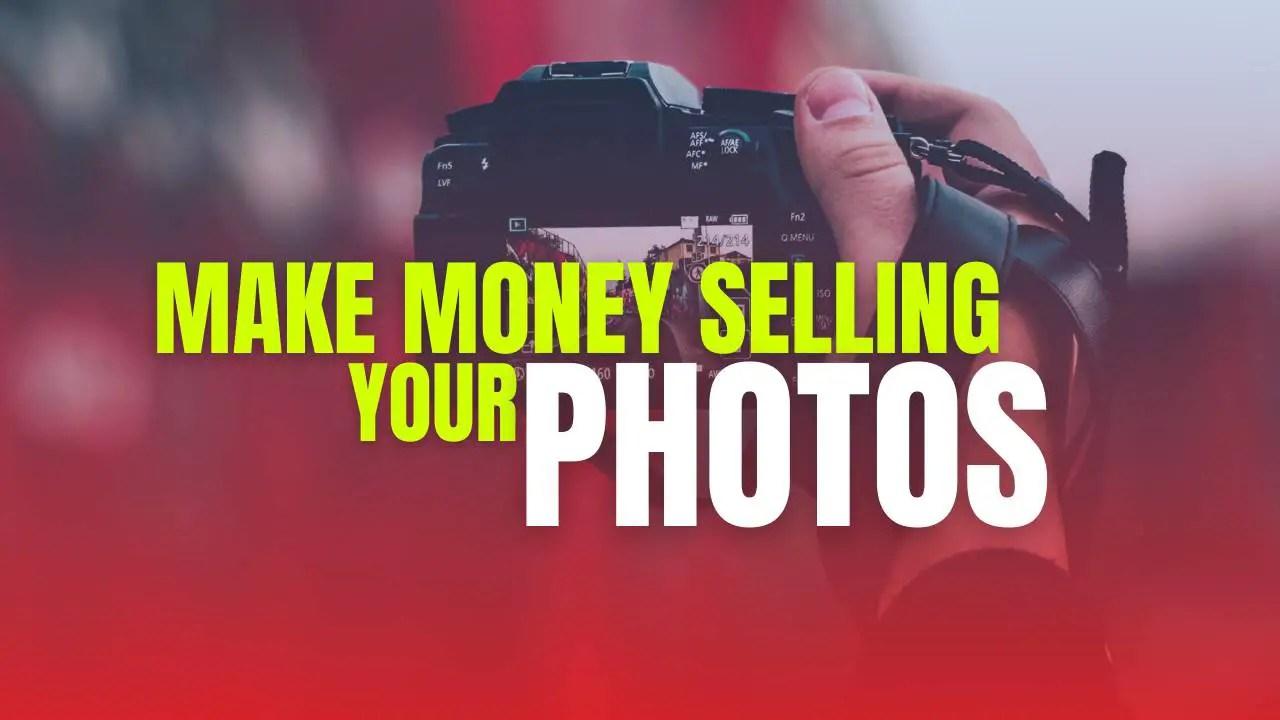 Make money selling photos online