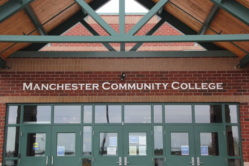 Manchester Community College entrance