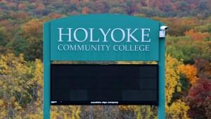 Holyoke Community College sign
