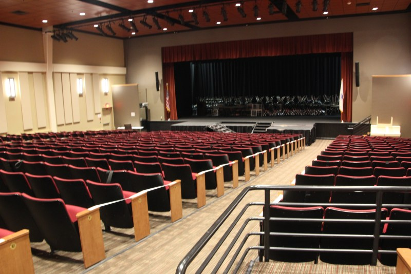 AIC theatre space