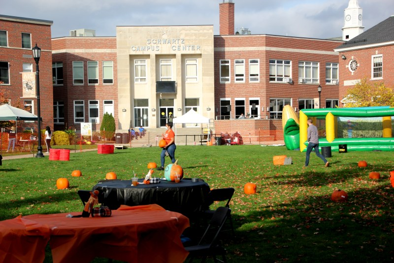 Fall festival on AIC campus